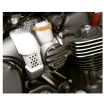 TPS Carb/Throttle Body Covers - Pair -Ribbed - Black .